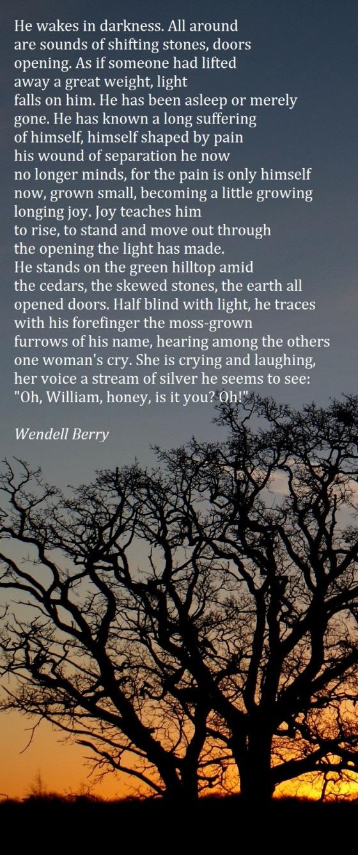 Sabbath Poem 2001
