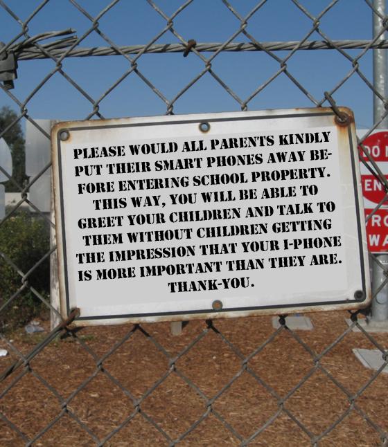 Smartphone notice detail