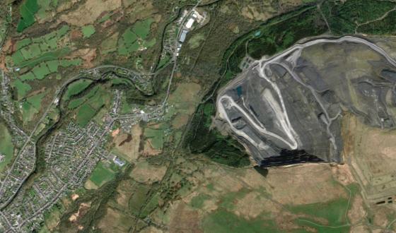 Google Maps photo, Upper Swansea Valley