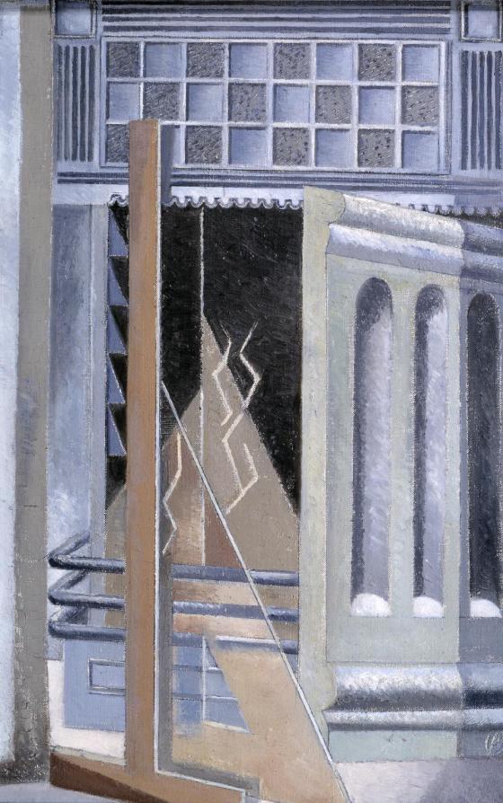 Lares 1929-30 Paul Nash 1889-1946 Bequeathed by W.N. Sherratt 1980 http://www.tate.org.uk/art/work/T03098